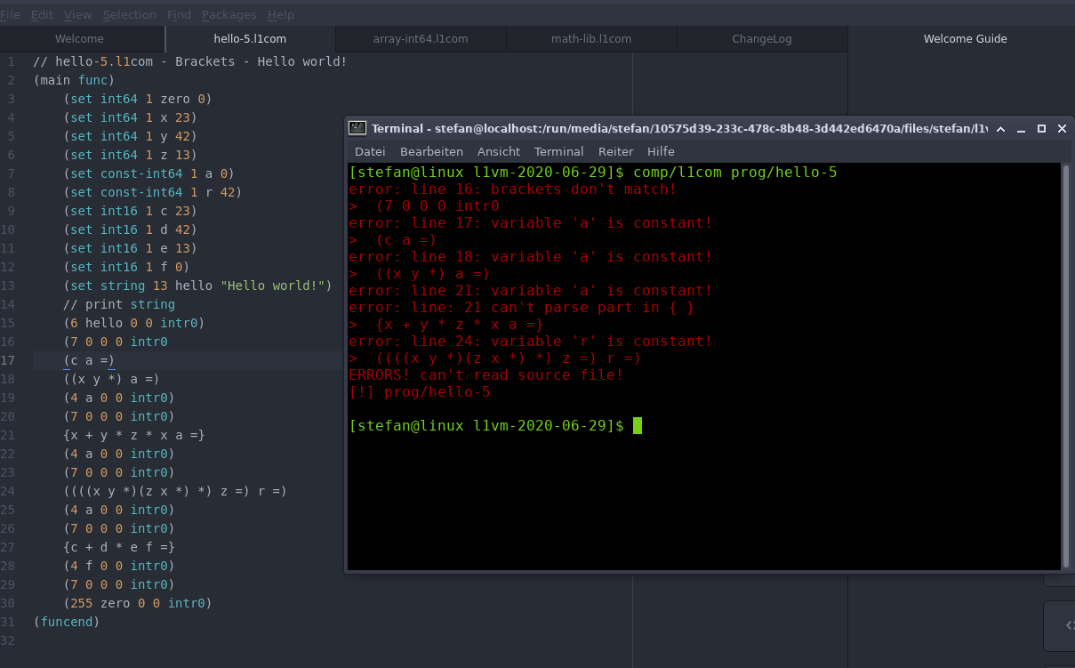 L1VM constants screenshot
