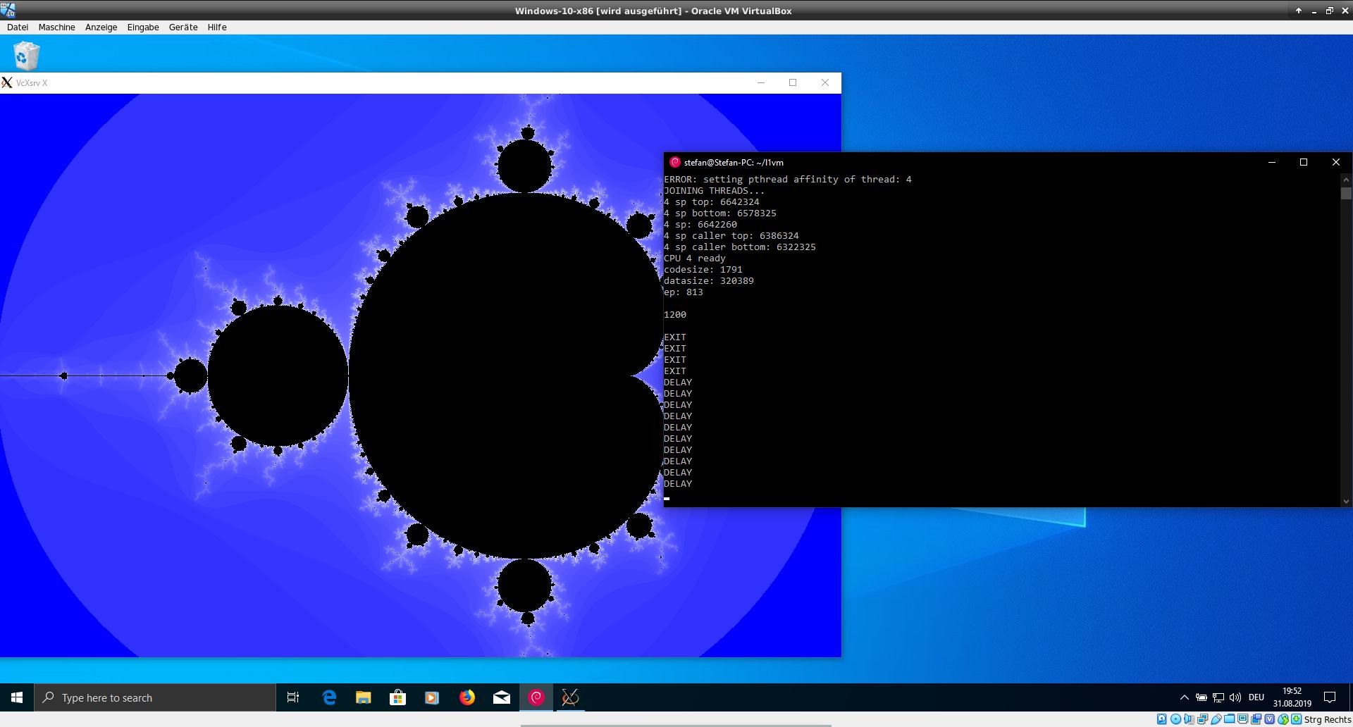 L1VM on Windows 10 WSL 2